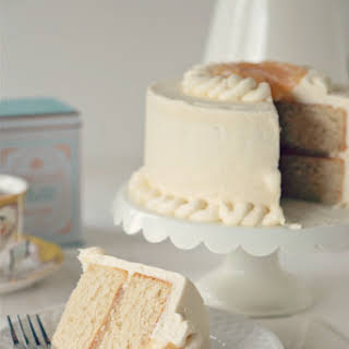 Earl Grey Cake with Vanilla Bean Buttercream.