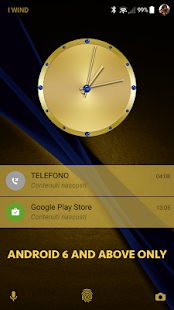 Sapphire Gold Theme for Xperia - náhled