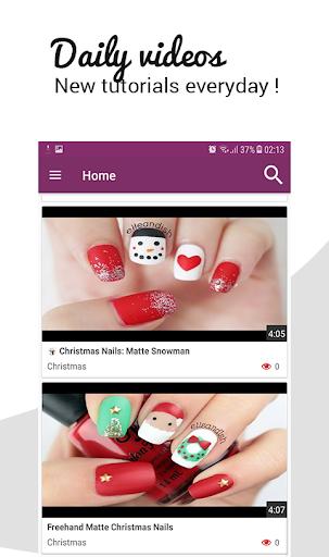 ? Nails videos tutorials HD 2018 step by step ! 1.0 screenshots 1