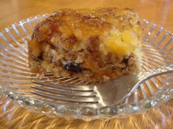 Pineapple Upside-down Carrot Cake Recipe