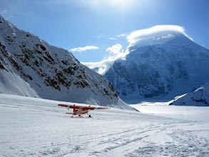 Photo: Landeplatz Basecamp für Denali