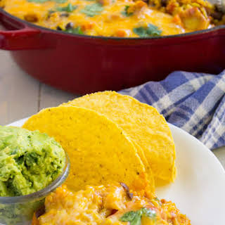 Veggie Mexican Rice Casserole.