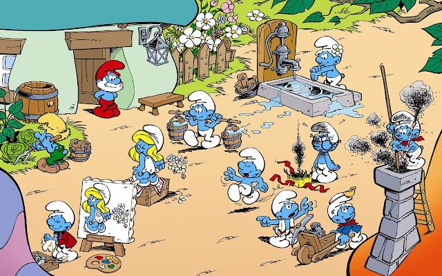 The Smurfs Tab
