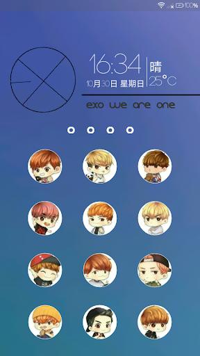 Exo Hd Wallpaper Locker Apk Download Apkpure Co
