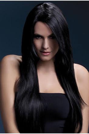 Peruk Amber, svart