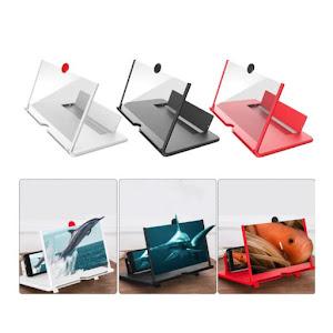 Set 2 x Ecran lupa cu efect 3D pentru telefoanele mobile