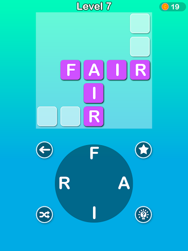 Word Cross - Wordscapes Puzzle:A Word Connect Game 1.1 screenshots 5