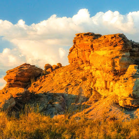 Big Bend National Park. Magic Hour by Dave Walters - Landscapes Mountains & Hills ( big bend national park., nature, lumix fz200, magic hour, landscape, colors )