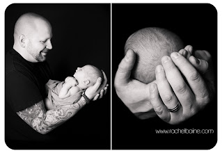 Photo: This was a first for me- shooting baby and dad....
