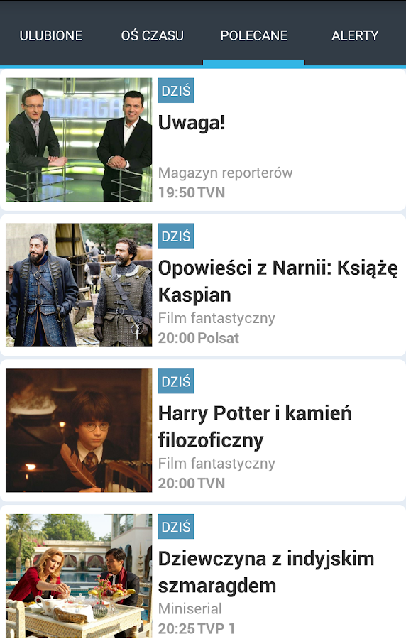 Program TV- screenshot