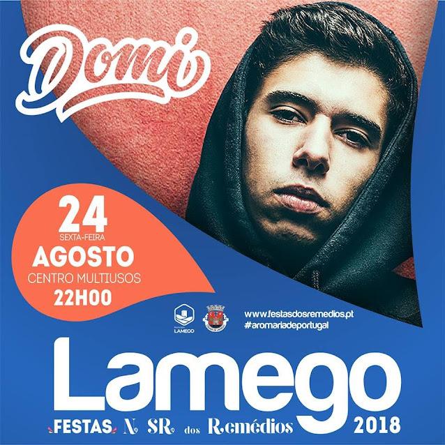 DOMI ao vivo em Lamego nas Festas dos Remédios 2018