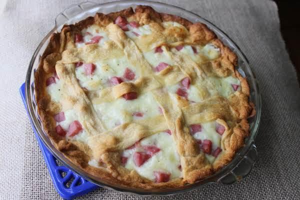 Ham And Cheese Pie Recipe