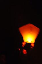 Photo: A přání nového s lampiónem štěstí