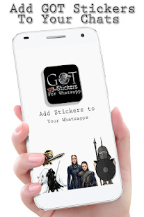 GOT Stickers(Game of Thrones) Screenshot
