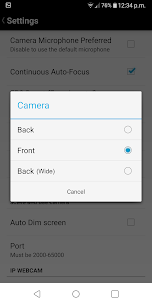 DroidCamX Wireless Webcam Pro 2