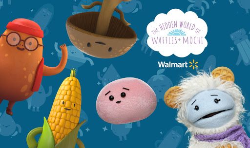"""Walmart Teams Up with """"Waffles + Mochi"""" for a Game That Gives Back"""