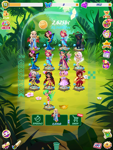 Merge Fairies - Best Idle Clickerud83euddda filehippodl screenshot 13