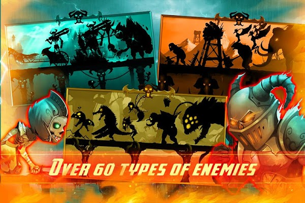 Stickman Legends: Shadow Wars- screenshot