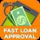 Online loans. Fast & easy loan approval. icon