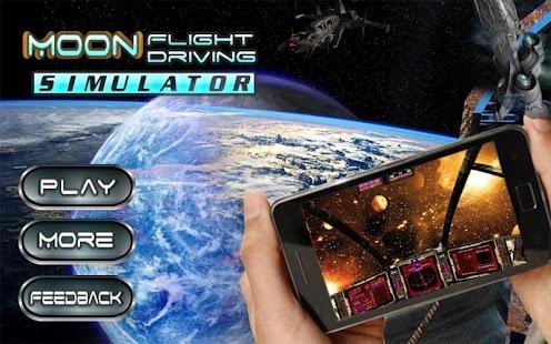Moon Flight Driving Simulator screenshot 9