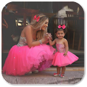 Mother & Daughter Outfit Dress