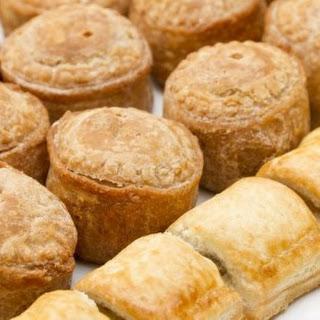 Mini Sausage Puff Pastry Bites