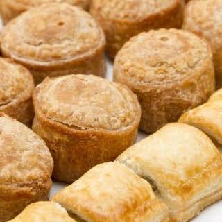 Mini Sausage Puff Pastry Bites.
