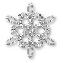Memory Box Die - Purslane Snowflake