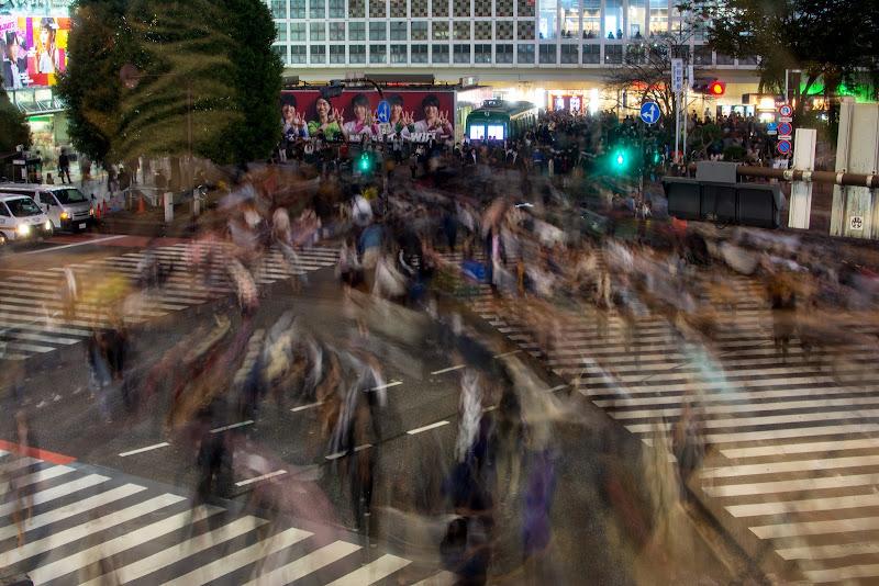 Tokyo - Il caos di Shibuya di Fran7cesco