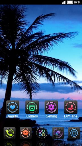 免費下載個人化APP|Palm Tree Sunset CLauncher The app開箱文|APP開箱王