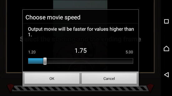 Fast Motion Video FX Screenshot