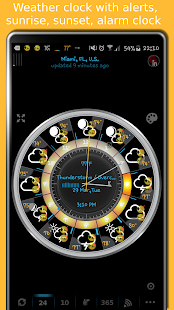 eWeather HD - weather, air quality, alerts, radar- screenshot thumbnail