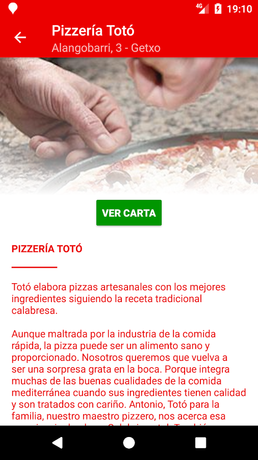 Pizzería Totó- screenshot
