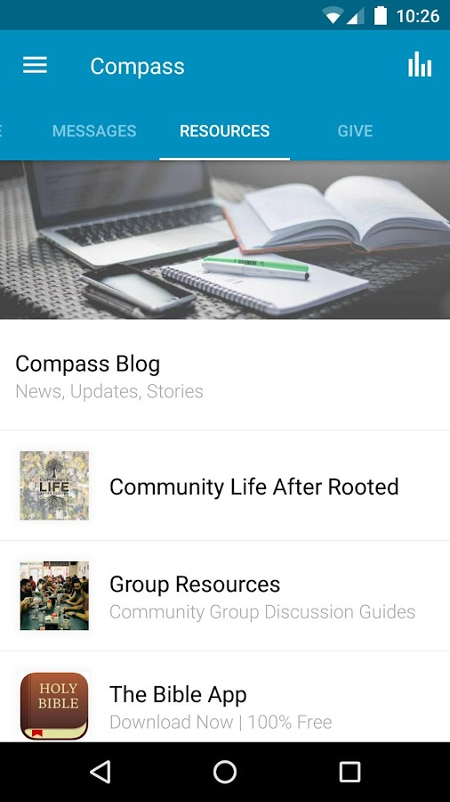 Compass Christian Church- screenshot