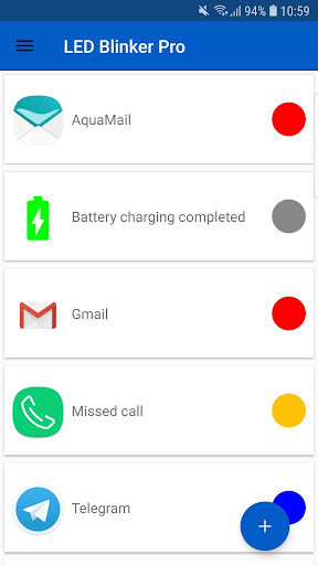 Screenshot for LED Blinker Notifications Pro - Manage your lights in Hong Kong Play Store