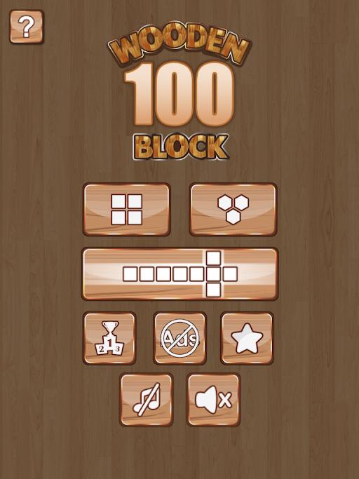 Wooden 100 Block Puzzle APK 2.0.1 screenshots 5