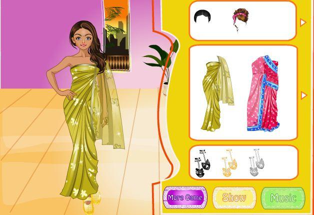 android Indian Bride Dress Up Makeover Screenshot 14