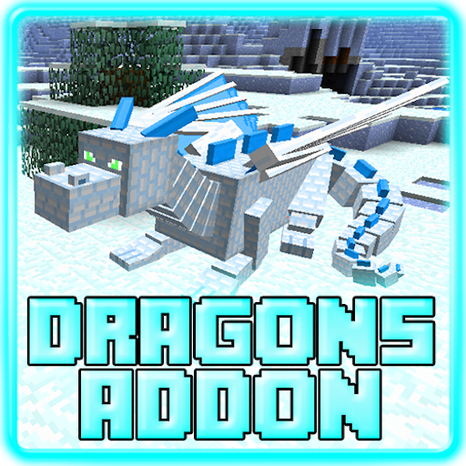 Dragons Addon for MCPE 0.16+