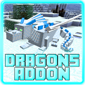 Tải Game Dragons Addon for Minecraft PE