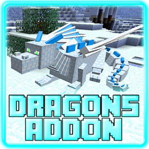 Dragons Addon for MCPE 0.16+ for PC