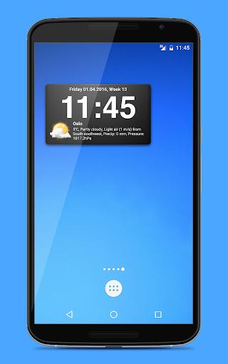 Weather widgets screenshot 4