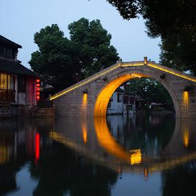 Xi Tang 3 by Xianwen Xu - City,  Street & Park  Street Scenes ( xi tang, vacation, old town, leica, morning )