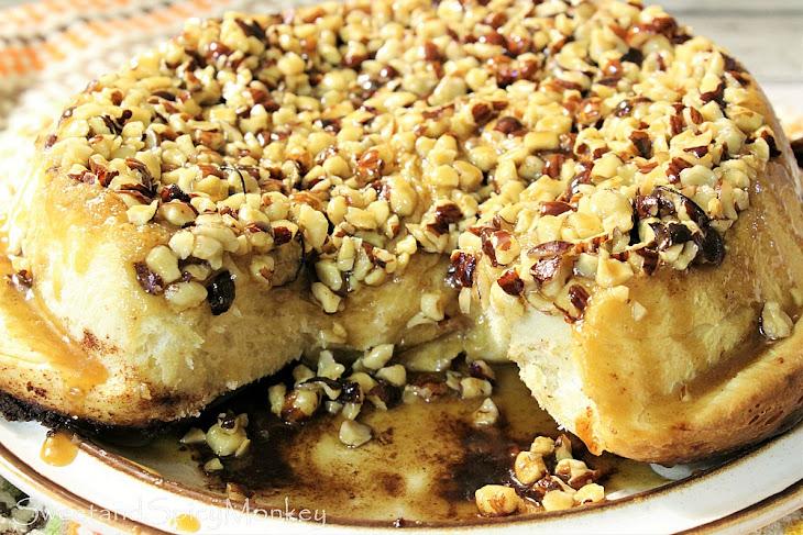 Sticky Cinnamon Hazelnut Buns Recipe