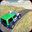 Offroad Police Jeep Hill Climb