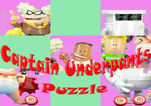 Slide Wallpaper Captain Underpants Puzzle Games