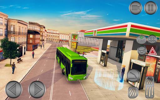 City Bus Driving School Game 3D-Coach Bus Sim 2020  screenshots 2