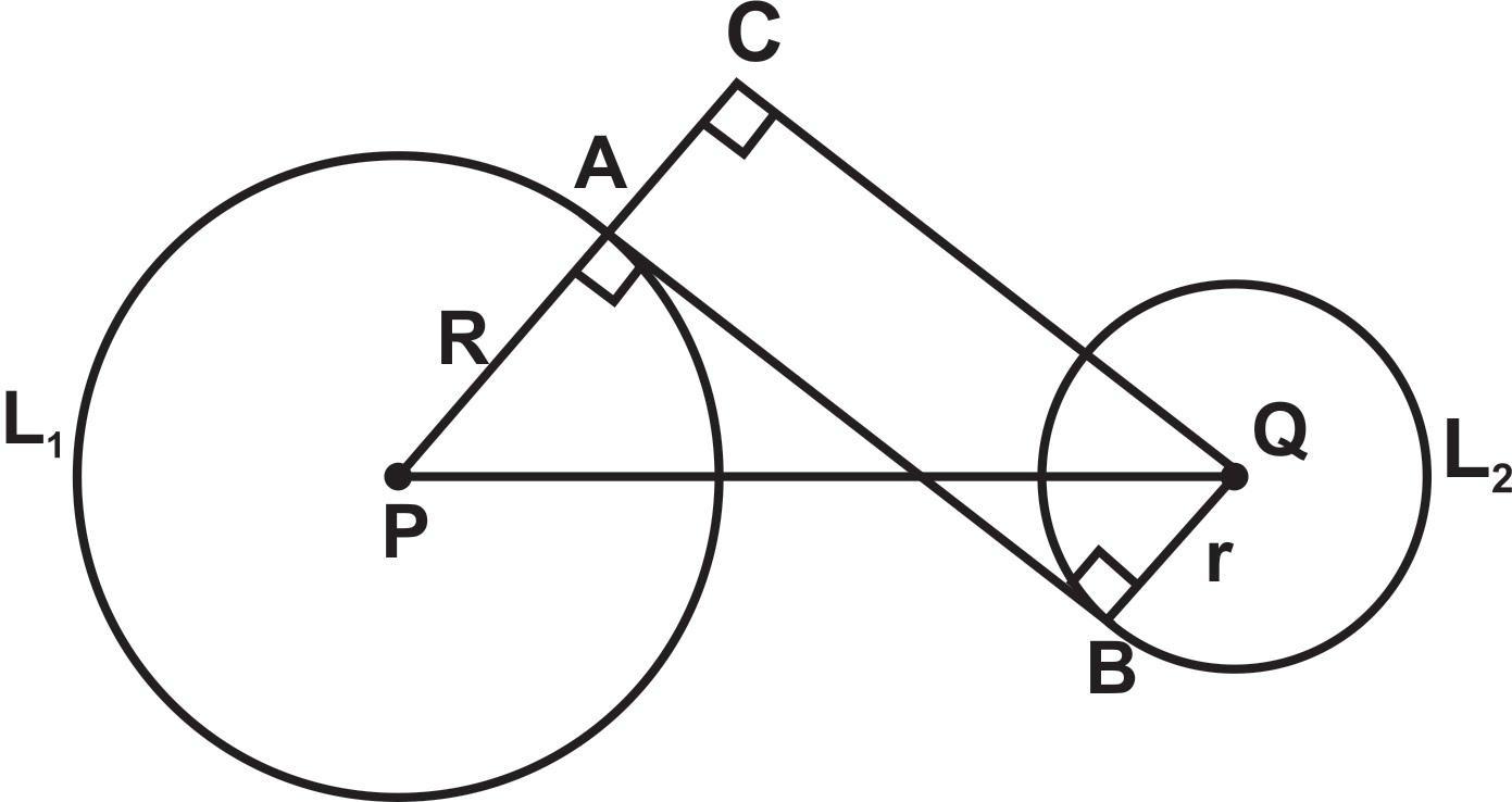 Garis Singgung Persekutuan Lingkaran - Edukaloka