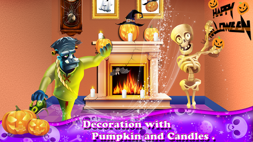Halloween Town Decoration Et Dancing Party Jeux  captures d'écran 4
