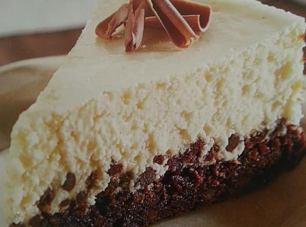 Brownie Chocolate Chip Cheesecake Recipe