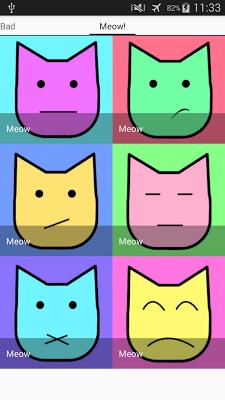 Сats emotion sounds - screenshot